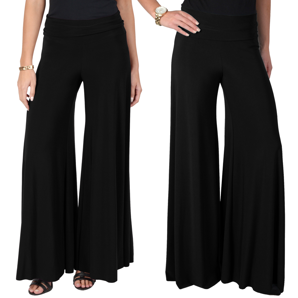 Brilliant Pants Wide Leg Pants Dance Women Pant Loose Palazzo Bottoming Pants