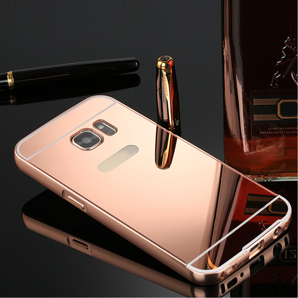 huge discount 9ae58 51ed9 For Samsung Galaxy S7/S7 Edge Luxury Aluminum Hard Phone Case Cover Skin