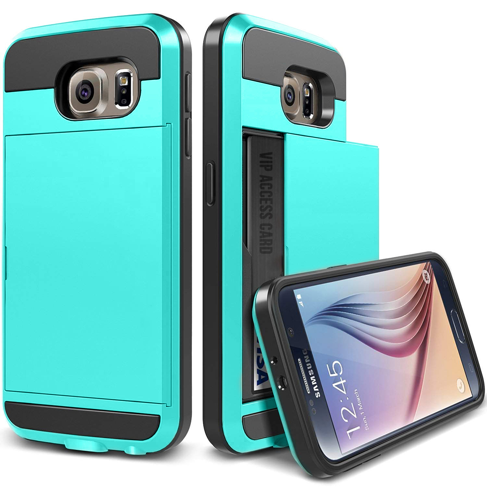 Amazon.com: card holder phone case for galaxy s7